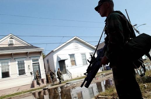 Hurricane OK National Guard
