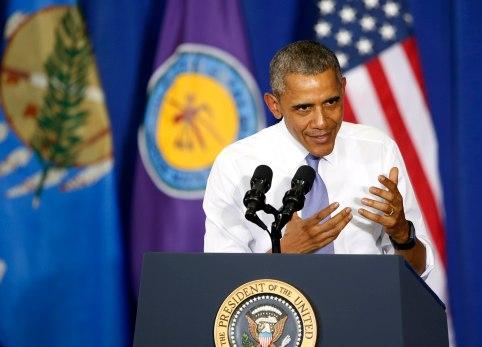 President Obama visits Durant
